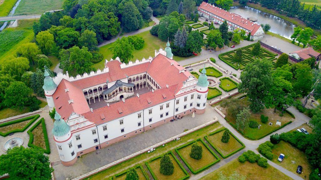 Slottet Baranów Sandomierski