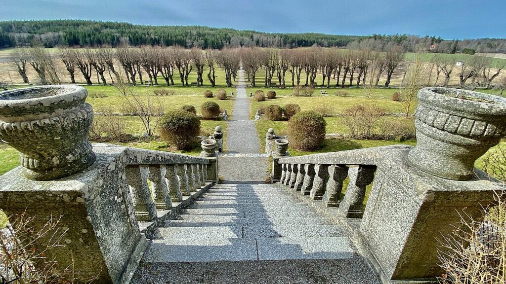 Barockträdgård Wenngarns slott
