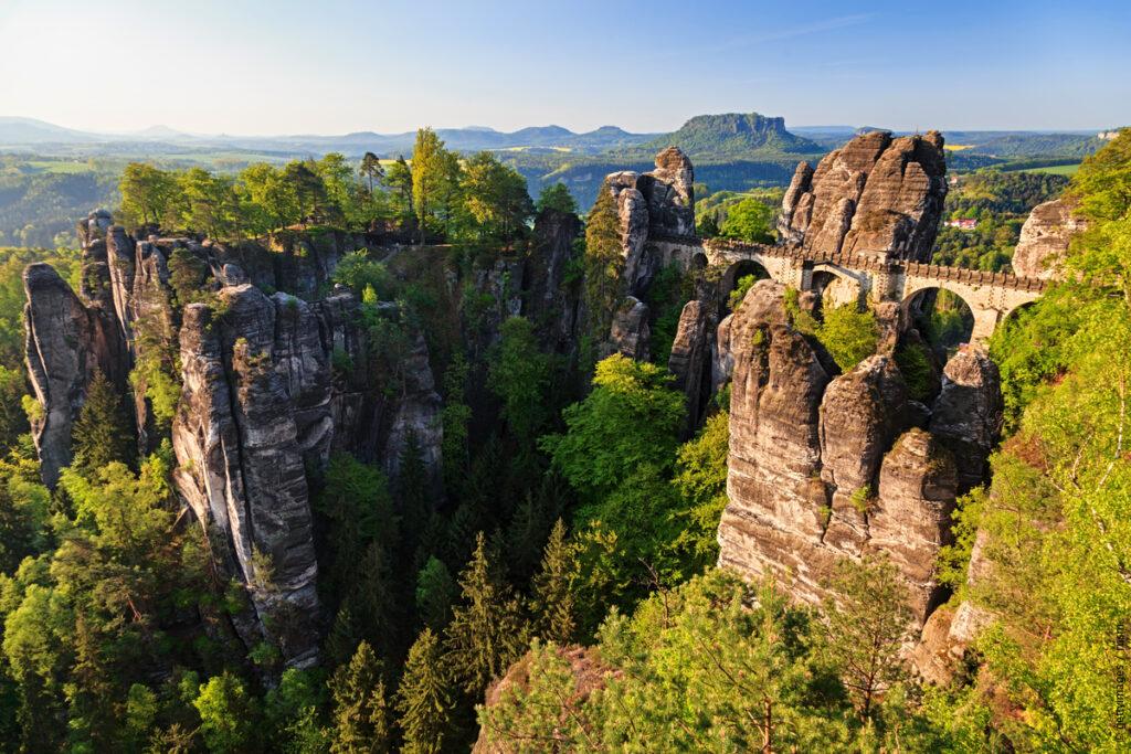 Hela världen i Tyskland: Saxiska Schweiz
