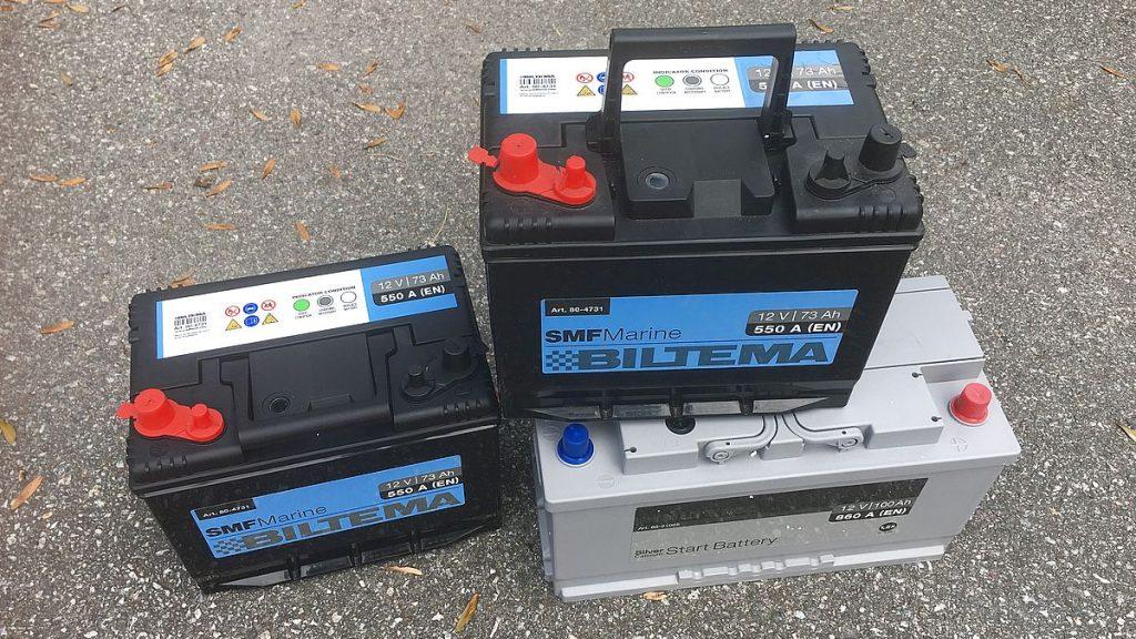 batterier i husbilen