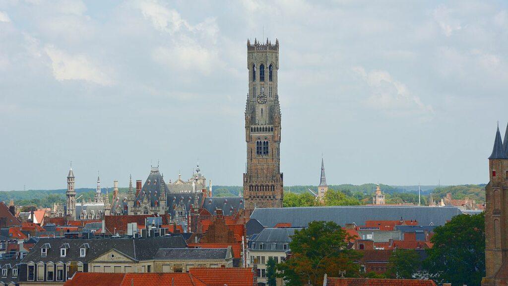 Beffroi - Unesco världsarv i Belgien