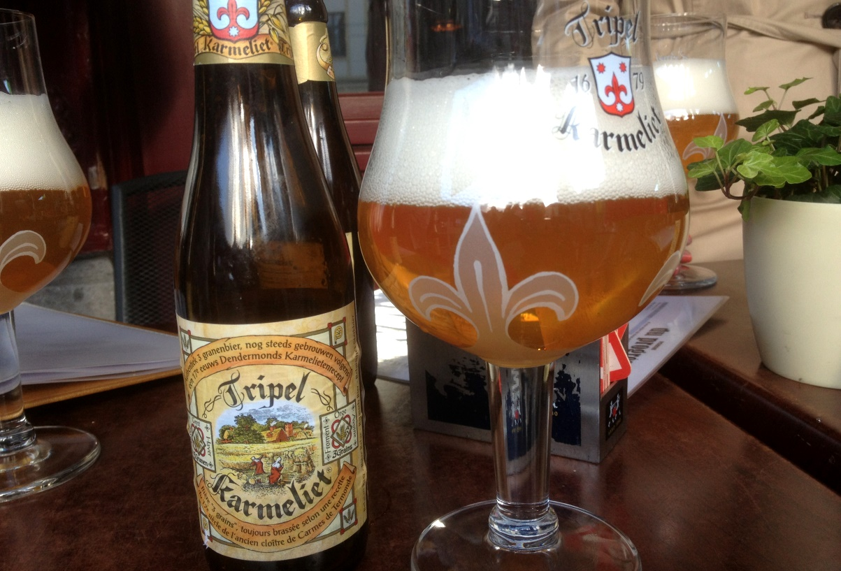 Belgisk öl - Tripel Karmeliet