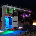 Om lasern i vår husbil