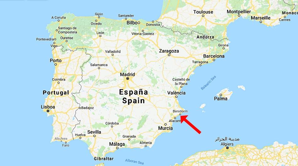 Spanien, Benidorm