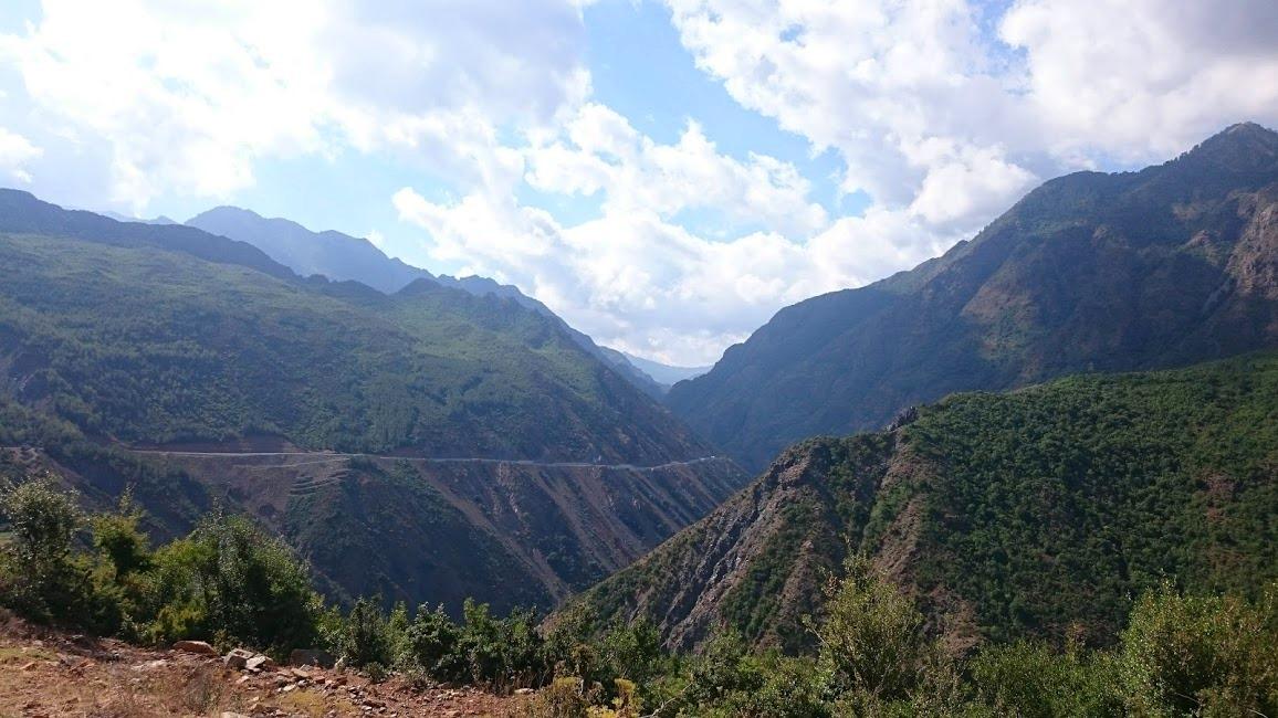 Berg i Albanien