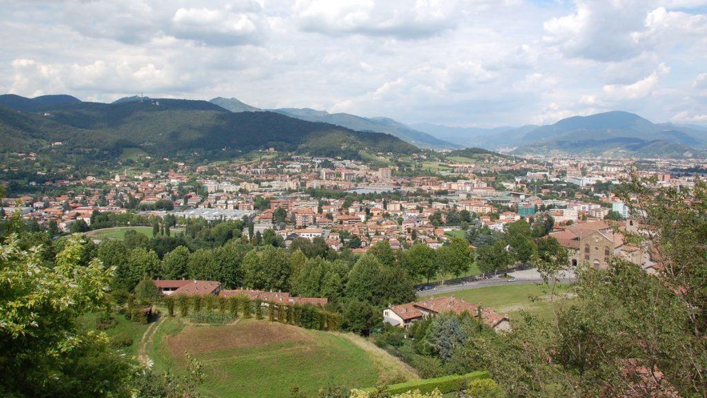 Utsikt från Citta Alta