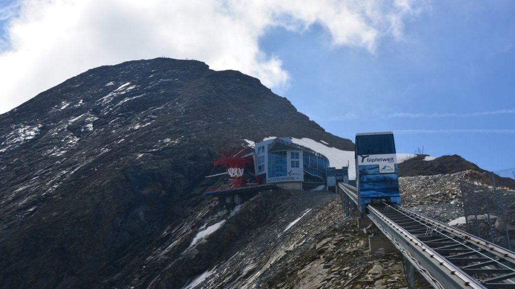 Bergbana Kitzsteinhorn i Österrike