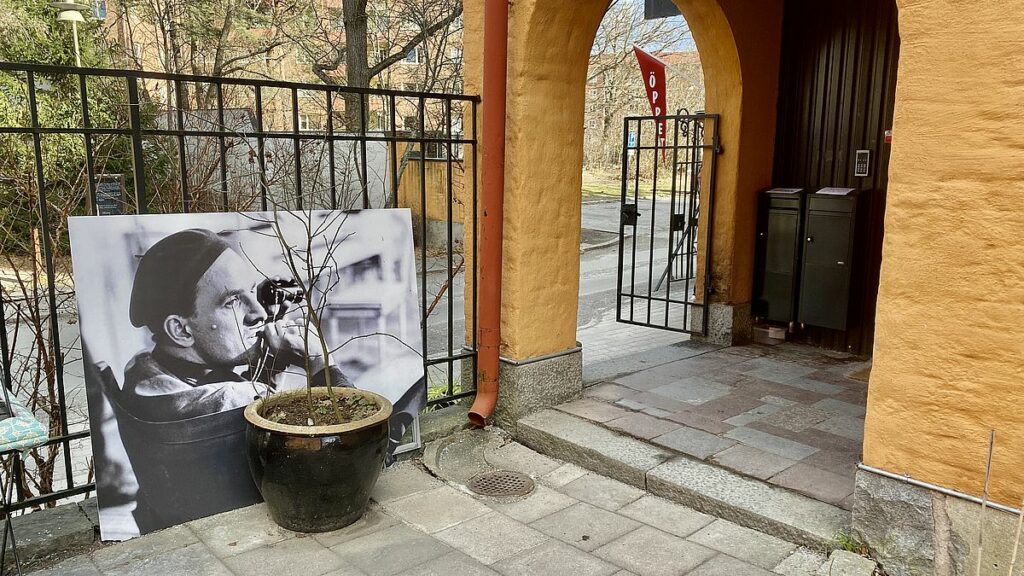 Ingmar Bergman - Filmstaden Råsunda i Solna
