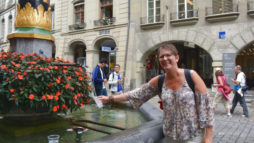 Bern fontäner