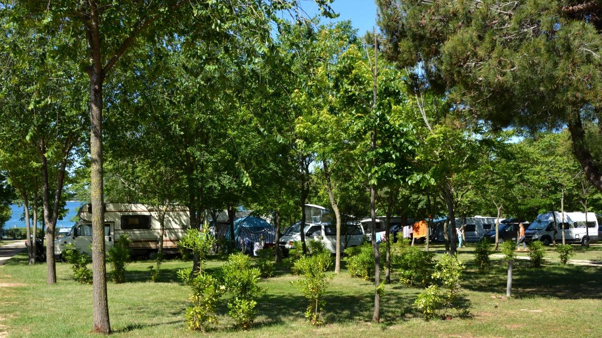Camping Bi-Village i Fazana i Kroatien