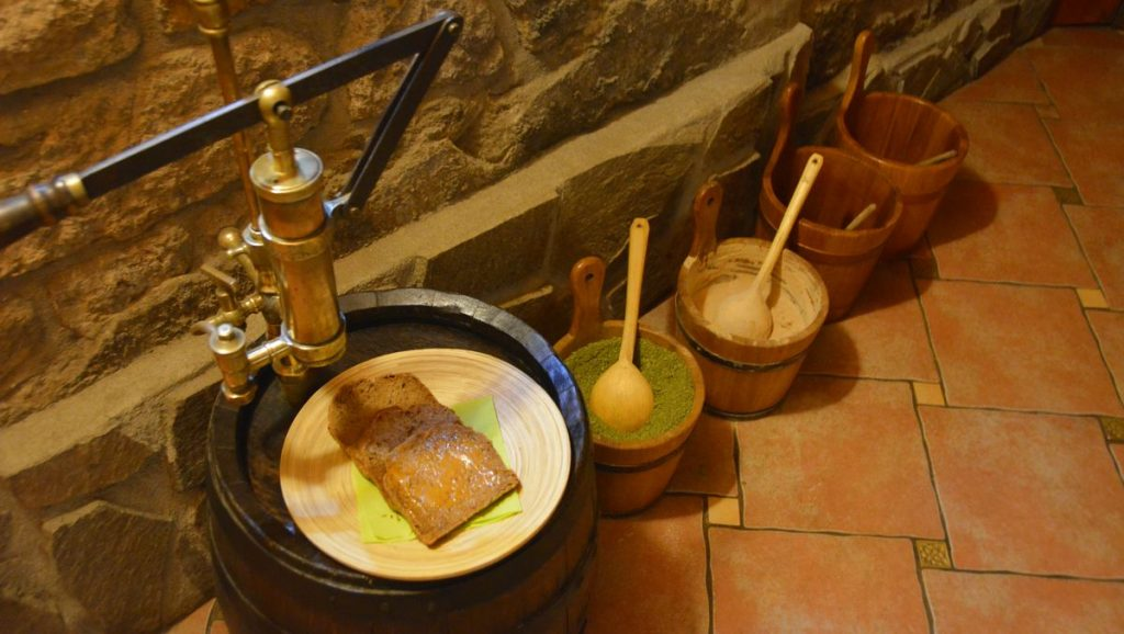 Bier brot på Ölspa i Tjeckien