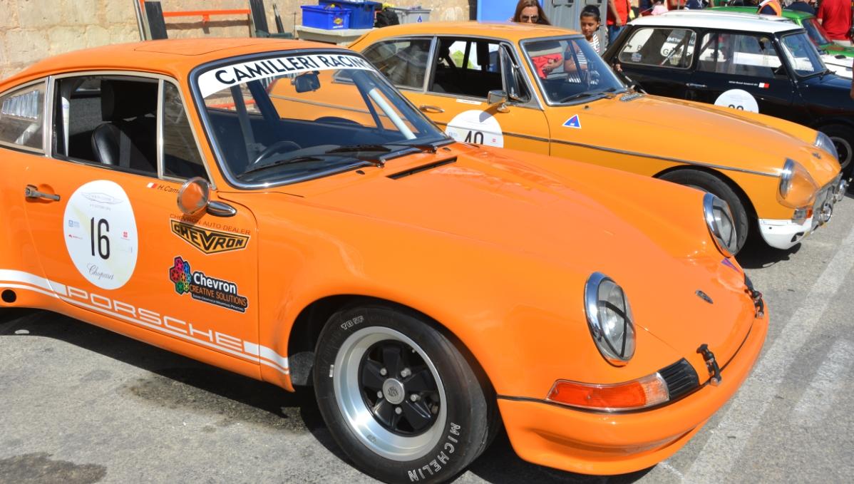 Bilar på Malta Grand prix