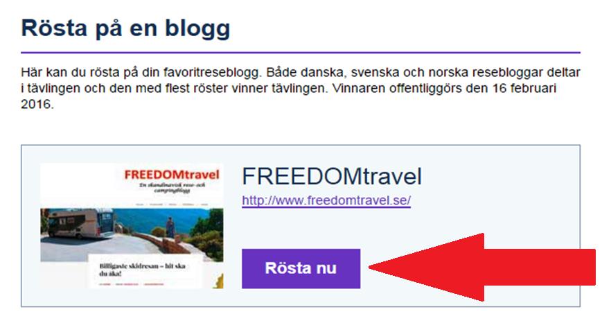 Sveriges bästa reseblogg
