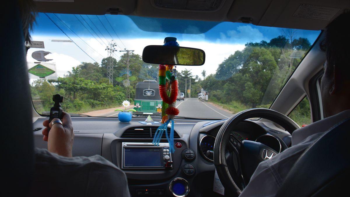 Bilkörning Sri Lanka