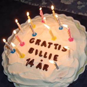 Billie 14 år