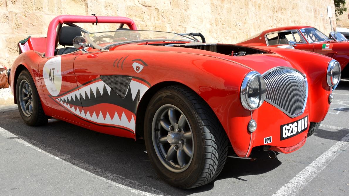 Biltävling på Malta