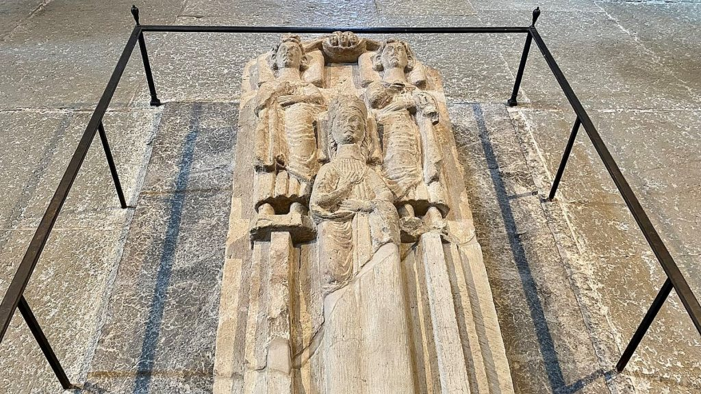 Birger Jarls grav i Varnhems klosterkyrka
