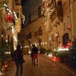 Ljusfestival på Malta (och en oväntad fest)