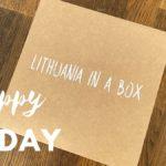 Litauen i en låda – och dags att hämta husbilen