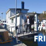 Vårstädning och båttur till Ringsö