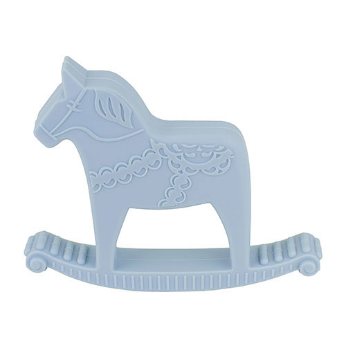 Bitring dalahäst blå