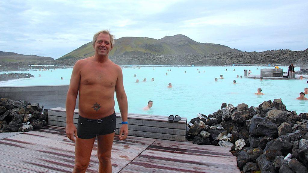 Blå Lagunen på Island