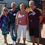 Träff med bloggvänner på Stora Nolia