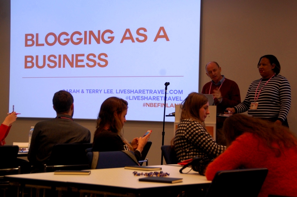"""Bli en bättre resebloggare: Terry och Sarah berättar om """"Blogging as a business"""""""