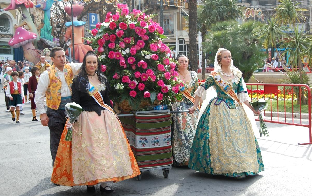 Blomsterparad Spanien