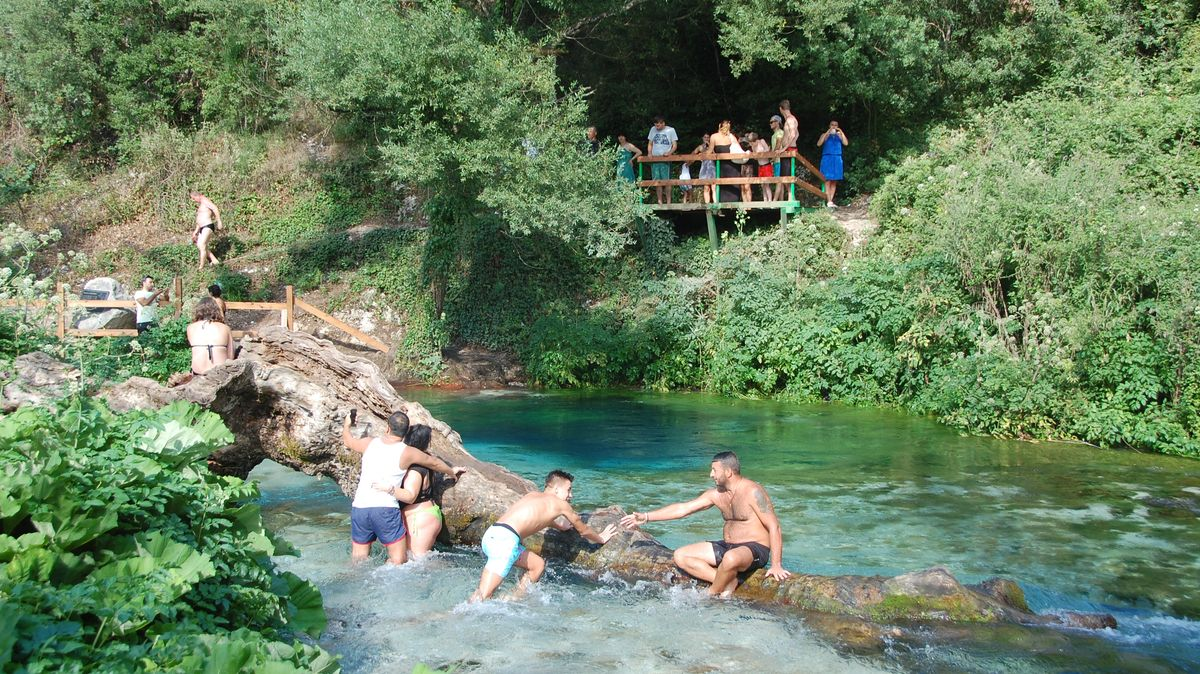 Blue eye - Blå ögat - Syri I Kalter i Albanien
