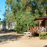 Bo i campingstuga på semestern