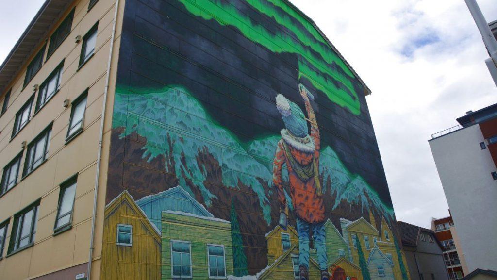Street art i Bodö