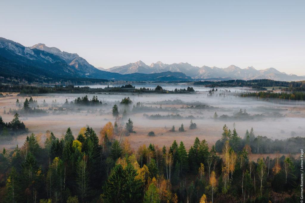 Naturområden i Tyskland - Nagelfluhkette
