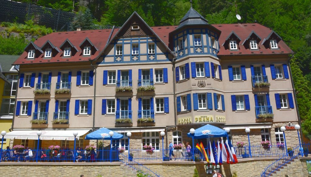Vackra hotell i Bohemian Switzerland