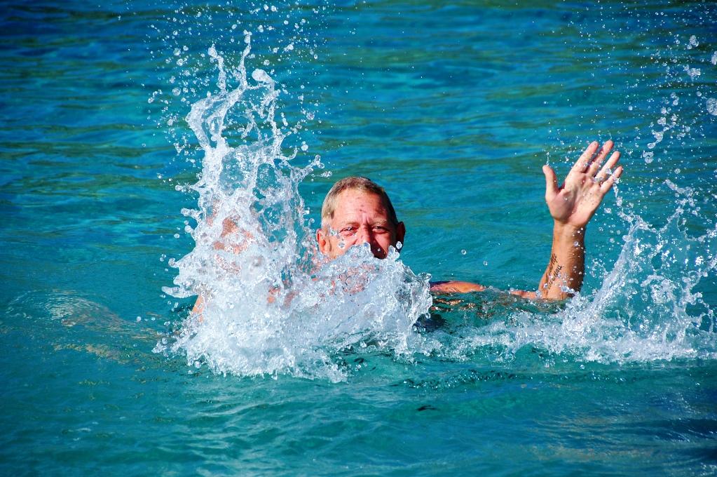 Varmt i luften och skönt i vattnet idag!
