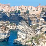 Bonifacio, Korsika – staden på klippan