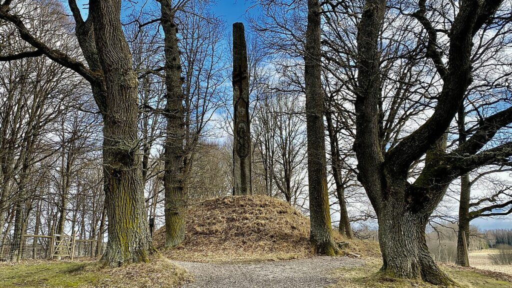 Boo slott obelisk