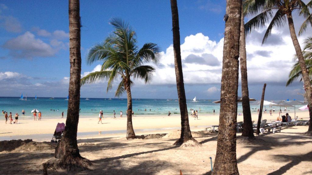 Varmt i februari i Filippinerna