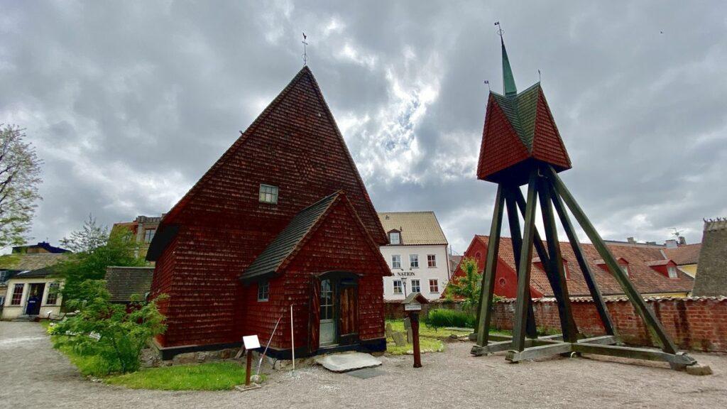 Kyrka på Kulturen i Lund