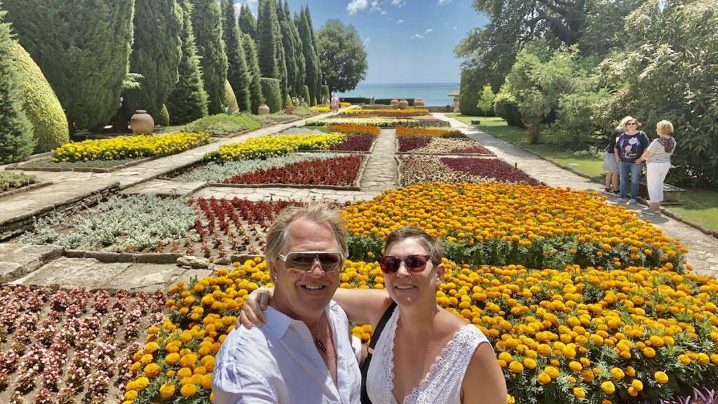 Baltjik i Bulgarien - den botaniska trädgården
