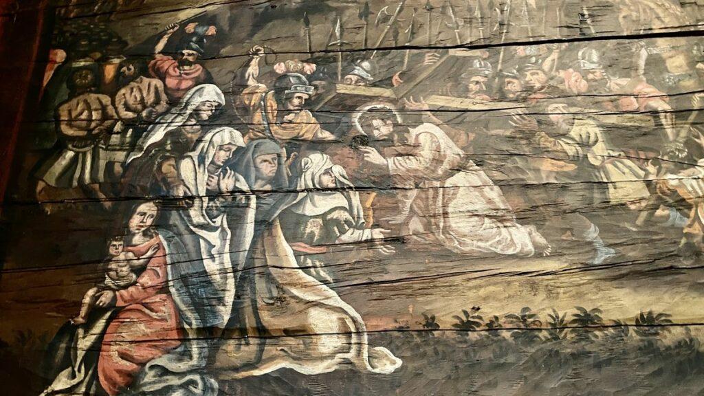 Bottnaryds kyrka målningar