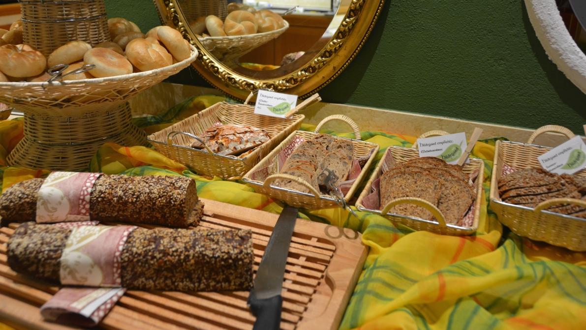 Bröd på hotell Pirchner Hof