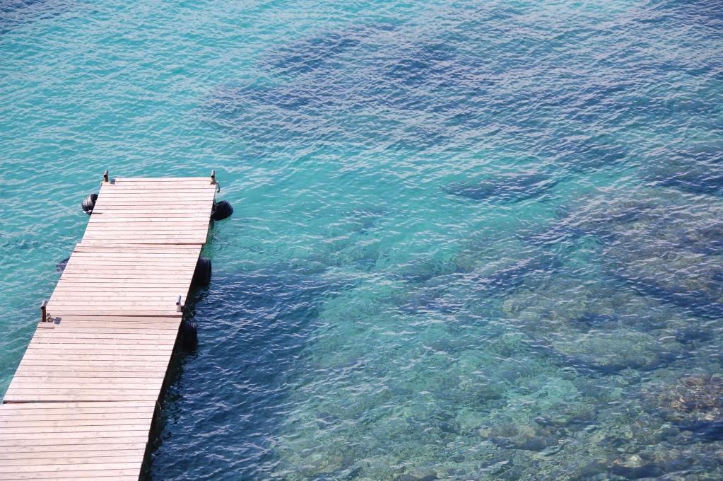 Vi solar, badar och fotograferar fascinerat stränderna och havet...