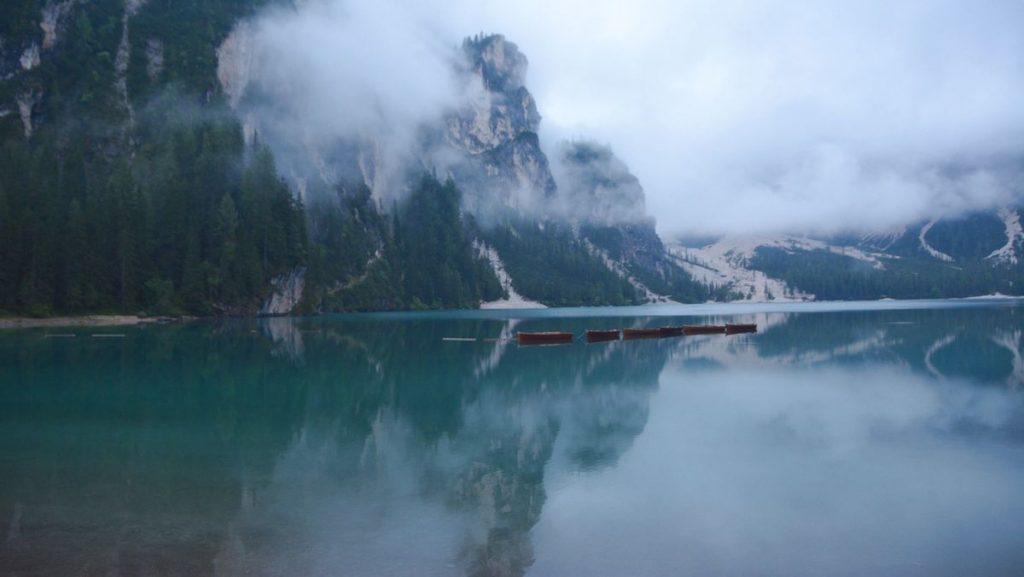 Braies sjö Italien