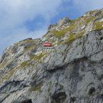 Vackra Luzern i Schweiz och berget Pilatus