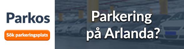 Parkering på Arlanda