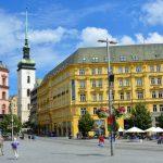 Den vackra staden Brno
