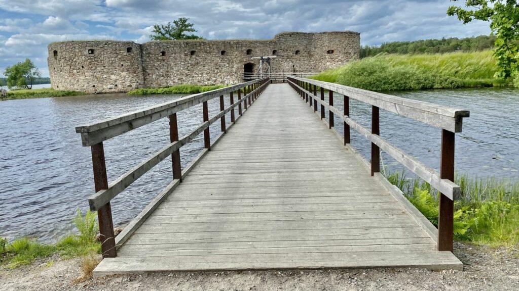 Kronobergs slottsruin