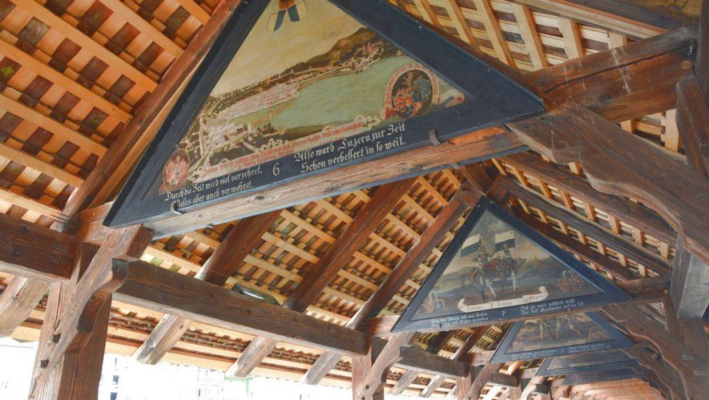 Broar målningar Luzern