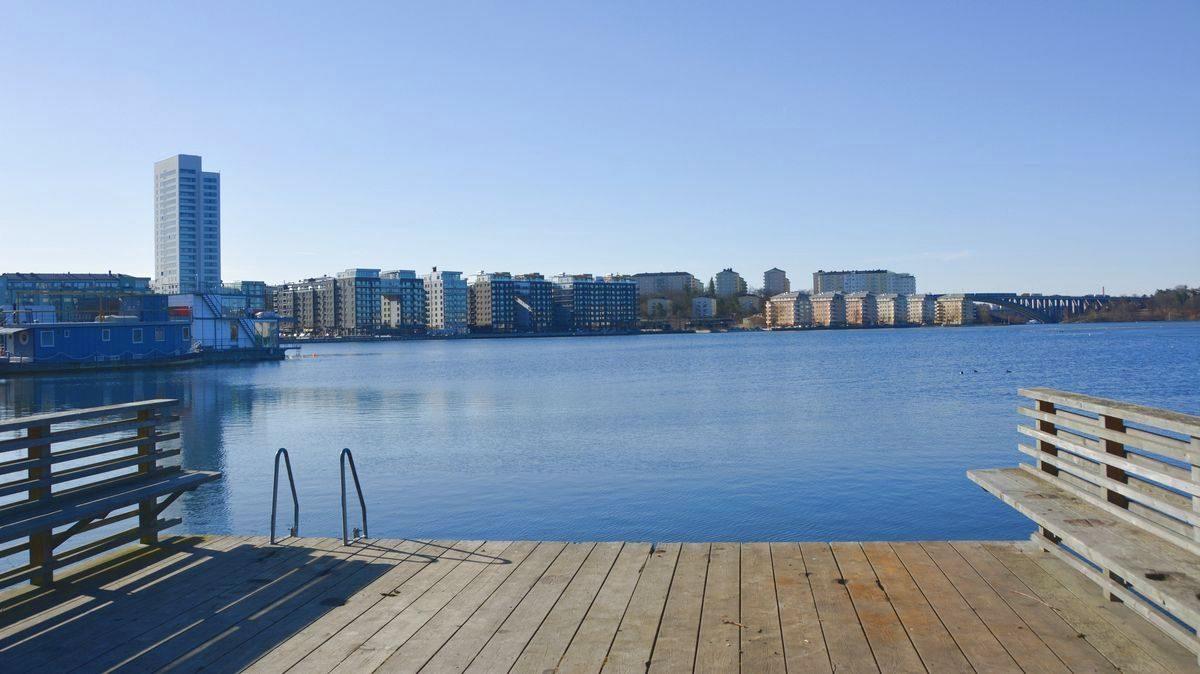Brygga Ulvsundasjön